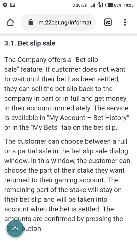 22bet cash out mobile - Cash Out Betting
