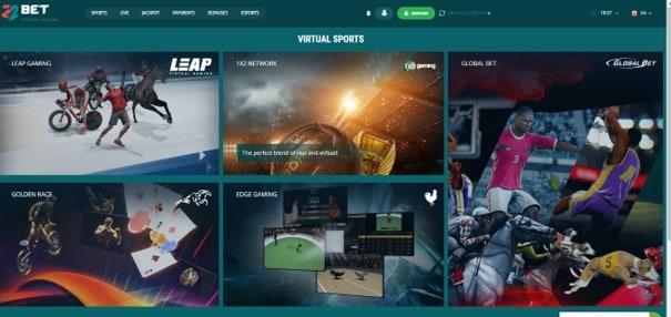 22bet virtual games