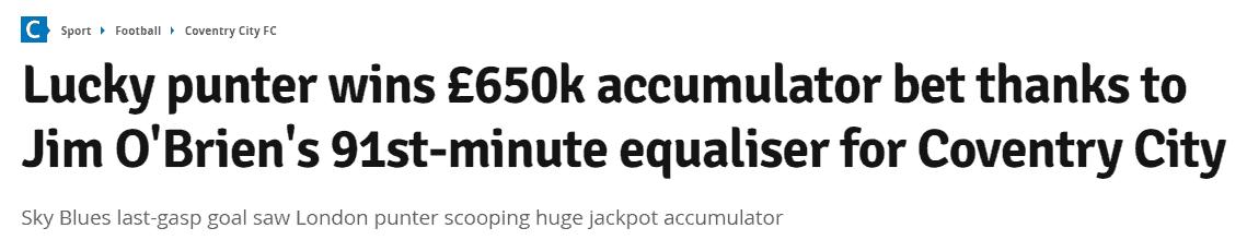 big accumulator win