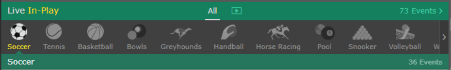 Bet365 Screen-Shot banner 1