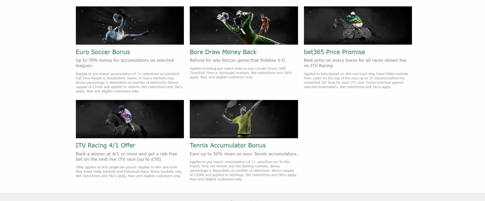 Bet365 Sportsbook Promotions