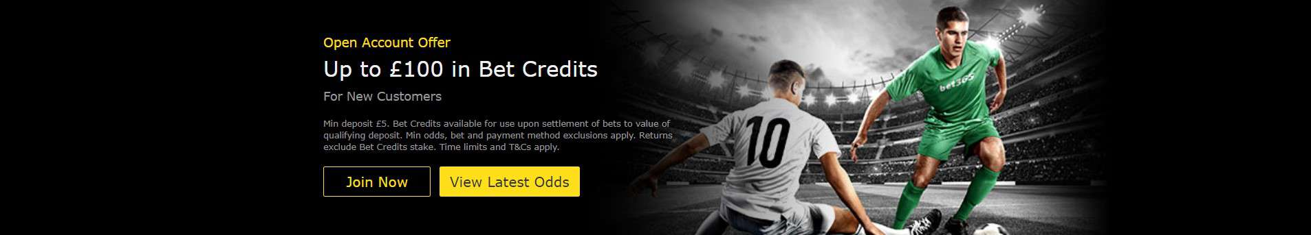 Bet365 Welcome Bonus Bet Credits