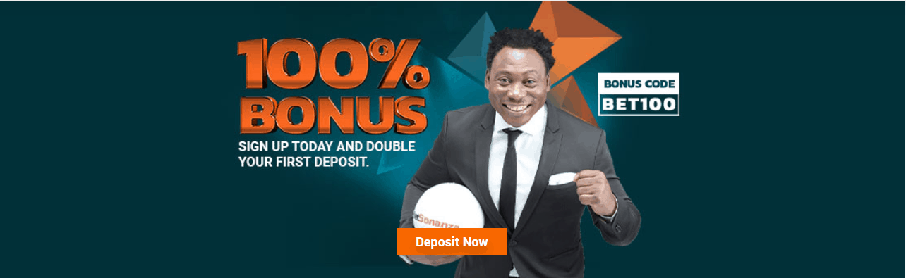 betbonanz 100% welcome bonus