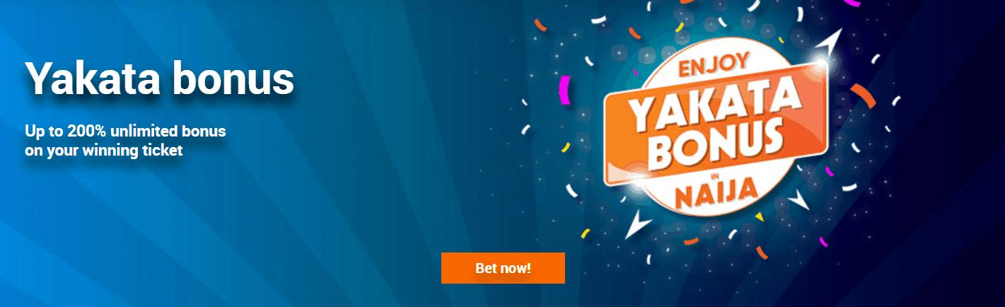 Betbonanza yakata promotion accumulator offer