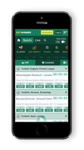 Betwinner mobile - betting app in Nigeria