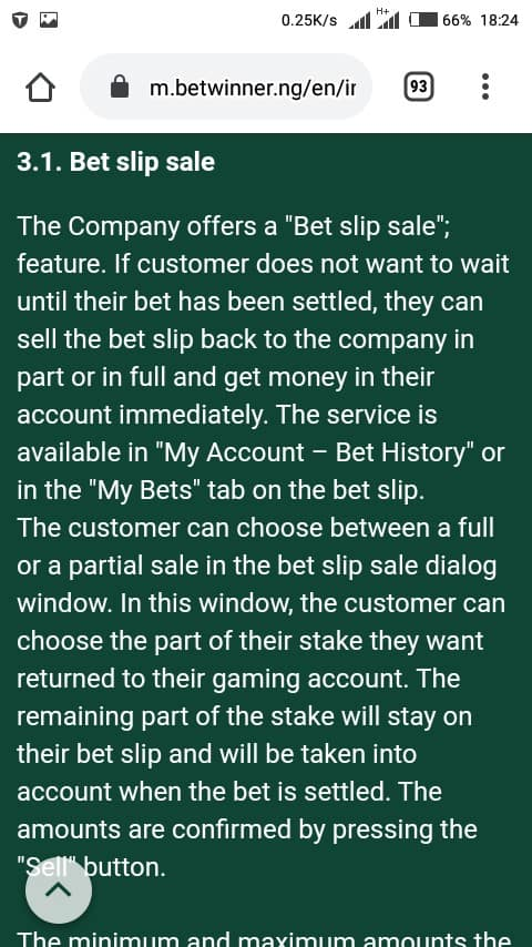 Betwinner cashout mobile