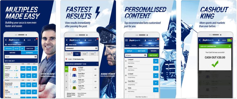 BoyleSports mobile app