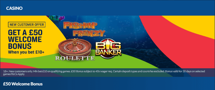 Coral casino promotion