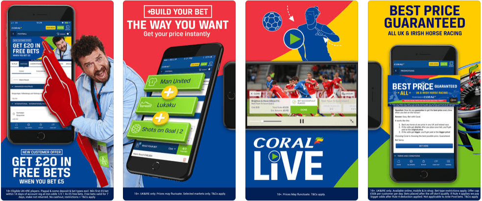 Coral Mobile Sports Betting