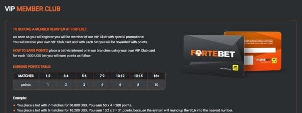 Fortebet vip member club - Fortebet Sports Betting