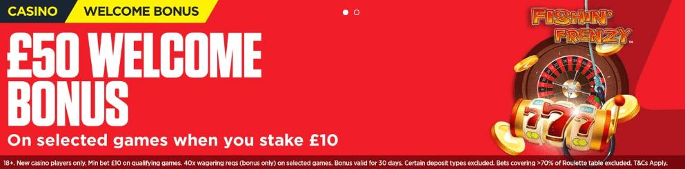 Ladbrokes casino promotion