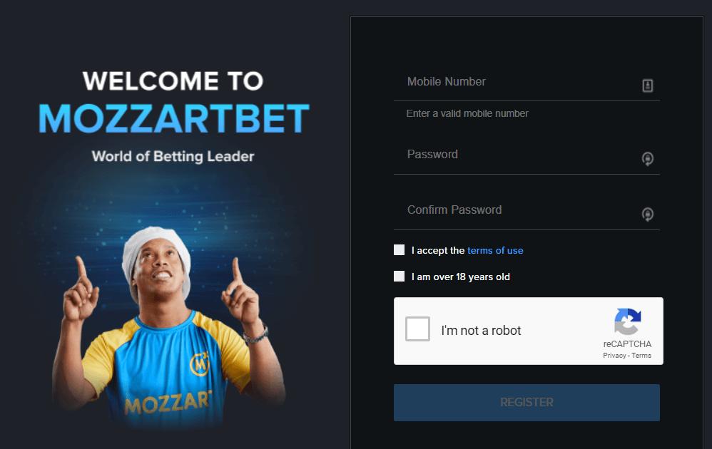 mozzartbet create an account