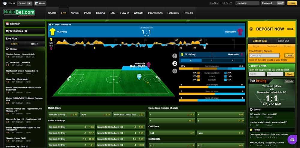 Naijabet live offer- NaijaBet Sports Betting