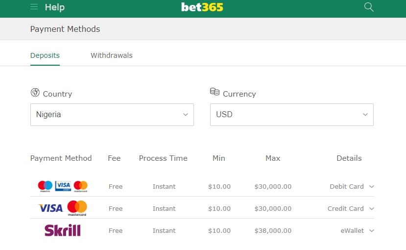 How to Deposit Into Bet365 using Skrill