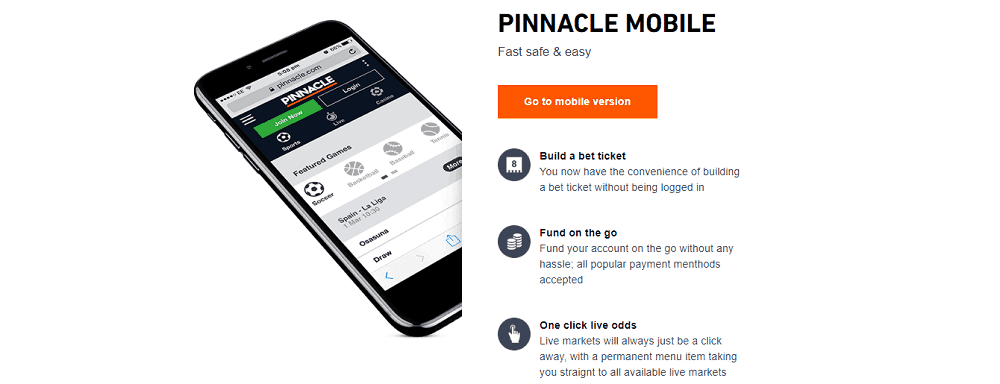 Pinnacle mobile