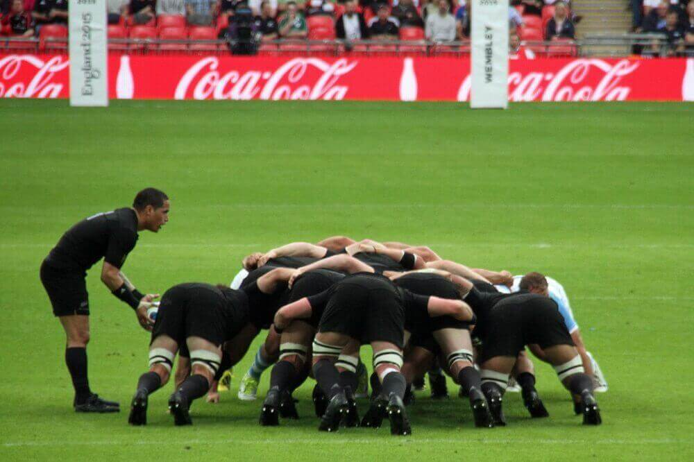 Rugby World Cup players
