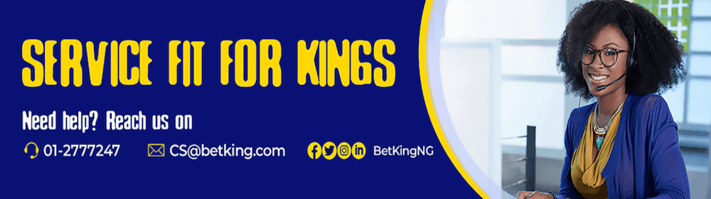 BetKing customer support