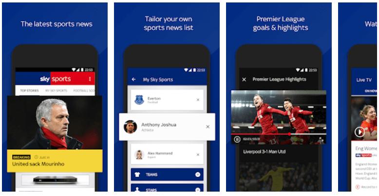 Sky Sports news app