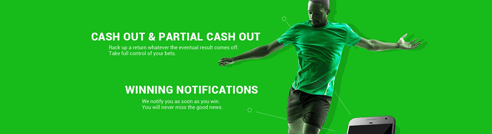 Cashout and Bet Builder at Sporty Bet