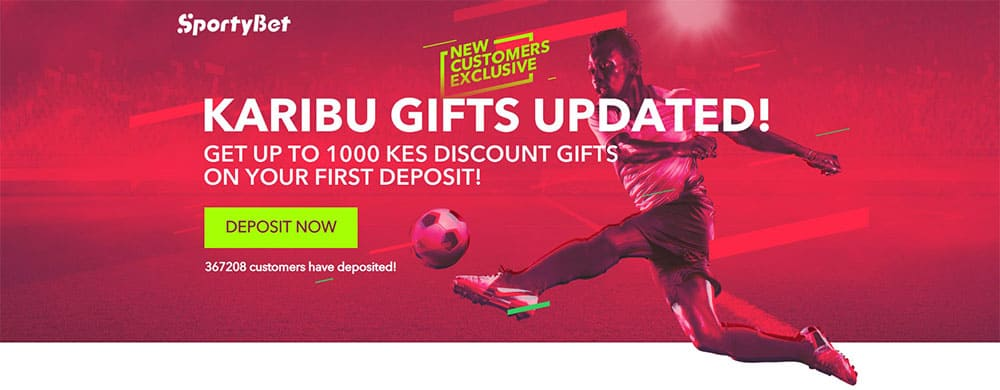 Welcome Offer at Sporty Bet
