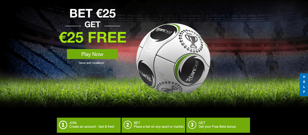 TitanBet home page