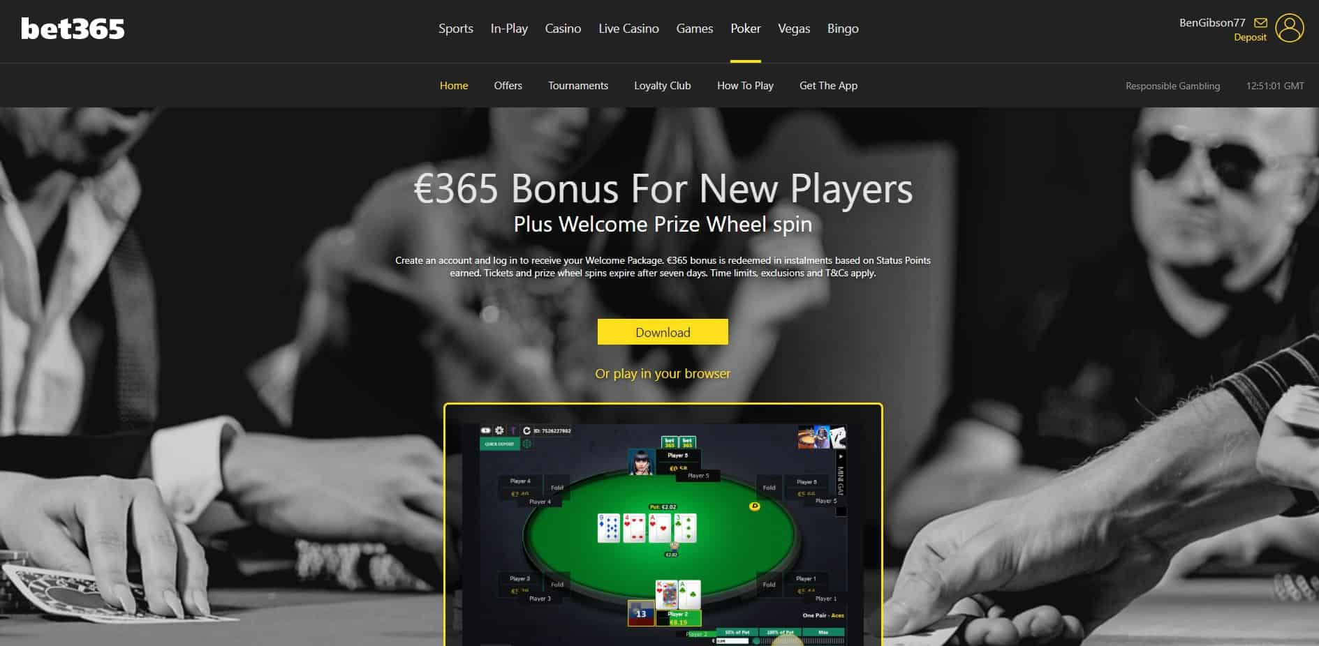 Bet365 Poker Homepage Bet365 Sports Review