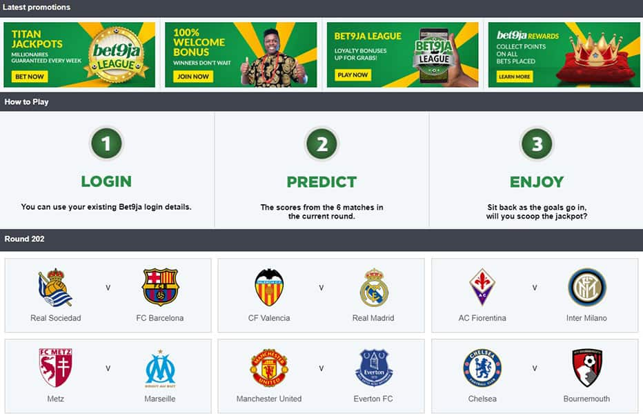 Design & Usability - Bet9ja Sports Betting Review
