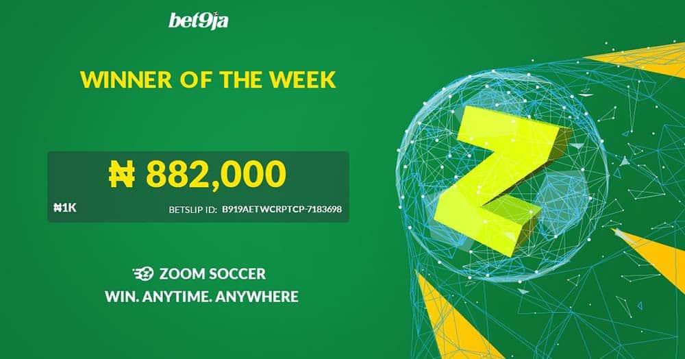 bet9ja zoom soccer winner of the week announcement
