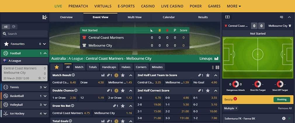betfarm live betting