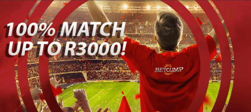 100% match up to R3000