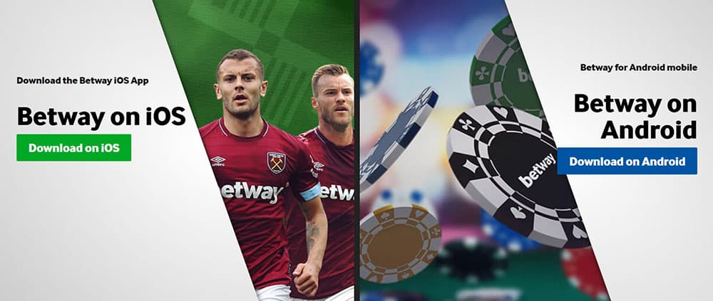 Betway App for iOS and Android
