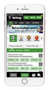 betway mobile app - betting app in Nigeria