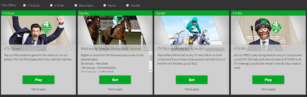 Promotions Sportsbook Betway Review