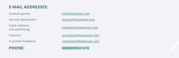 betwinner support - BetWinner Sports Betting Review