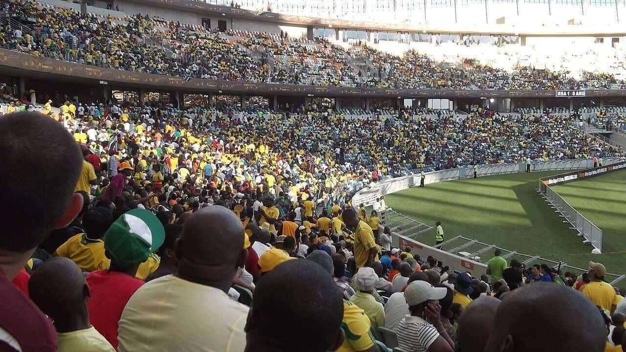 african soccer fans