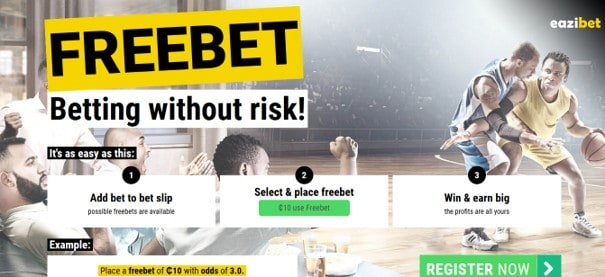 eazibet freebet offer - EaziBet Sports Betting Review