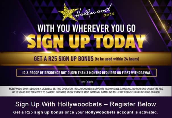 hollywoodbets registration