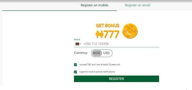 Wazobet Registration Process