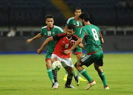 Football Players on the Pitch - African Nations Championship betting