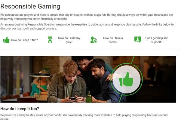 Unibet Resonsible Gaming - Unibet Sport Betting Review