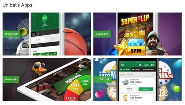 Unibet's Apps - Unibet Sport Betting Review