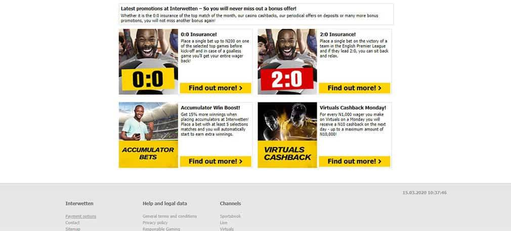 interwetten sportsbook promotional offer