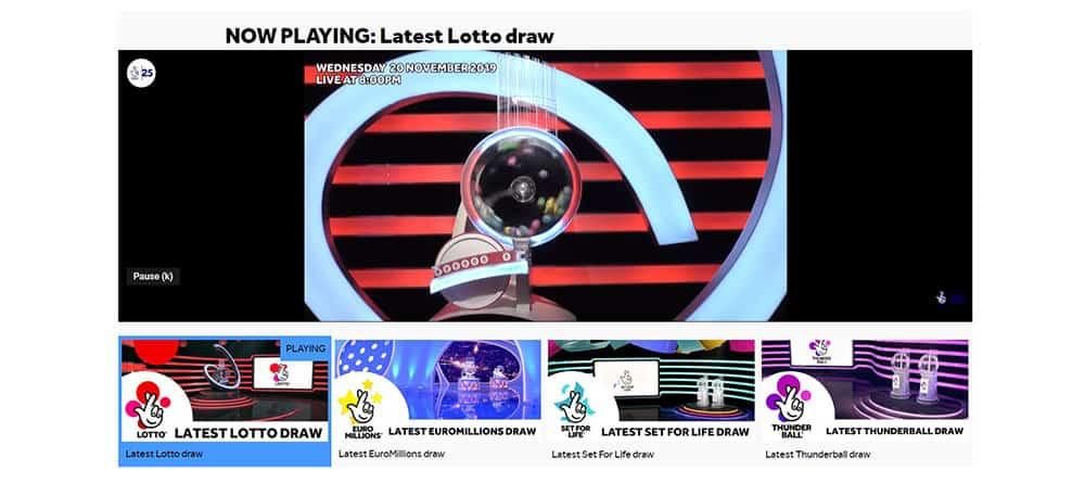 Latest Lotto Draw