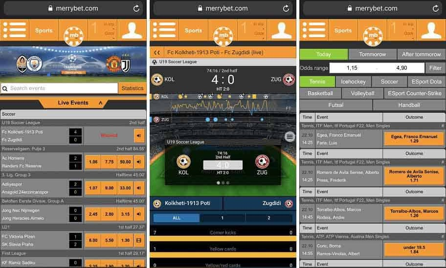 The Merrybet Mobile App Nigeria Betting