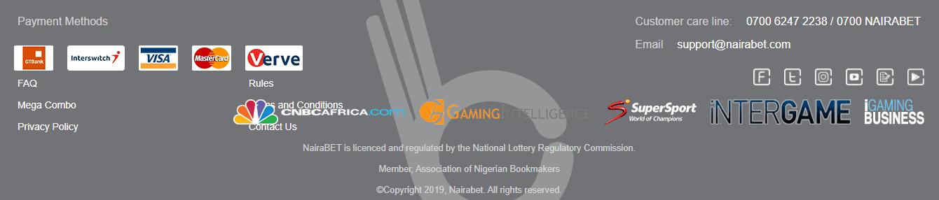 NairaBet Security and Regulation