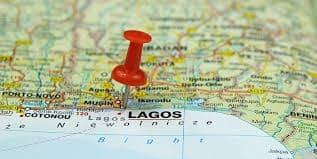 Map Nigeria Lagos