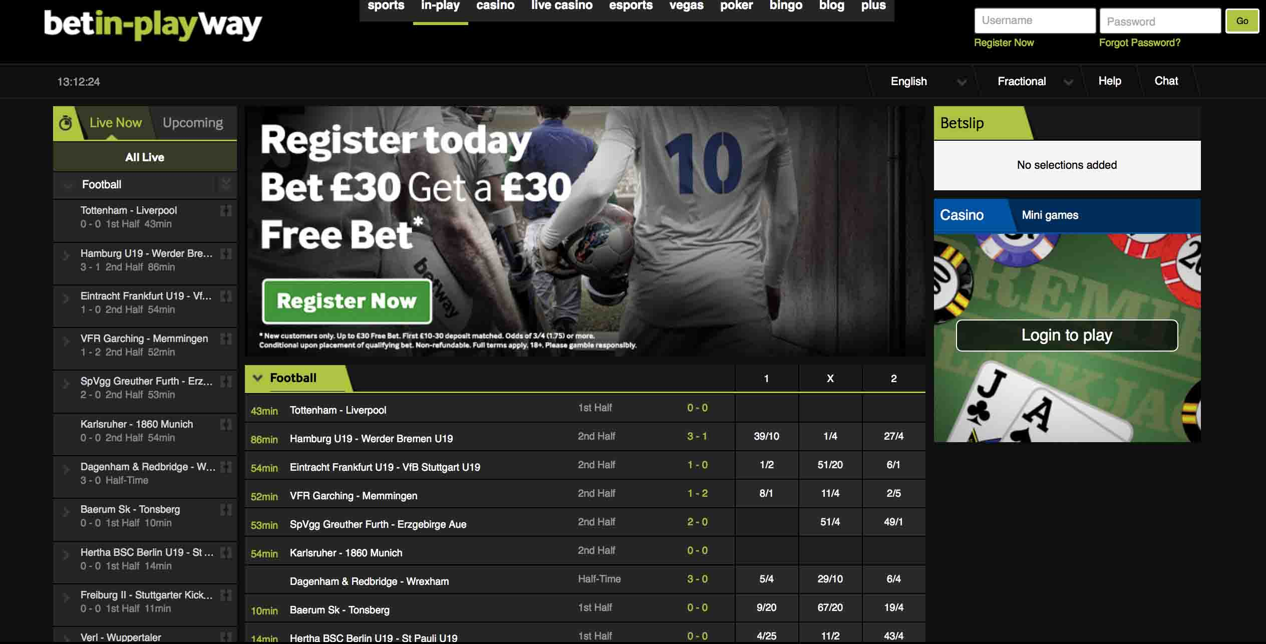 Betway Sports Homepage Nigeria Betting