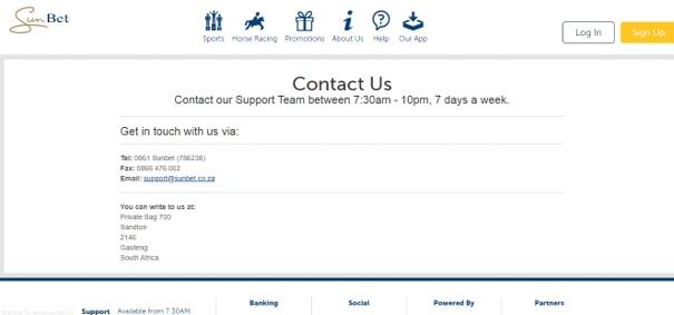 sunbet customer support - Sunbet Sports Betting Review