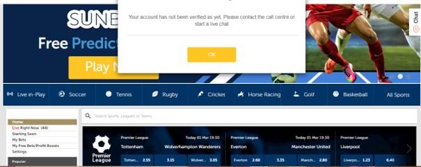 sunbet registration step 4 - Sunbet Sports Betting Review