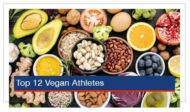 Top 12 Vegan Athletes